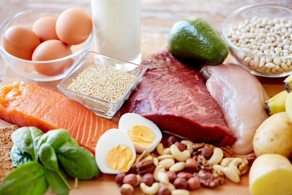 fresh ingredients for diet